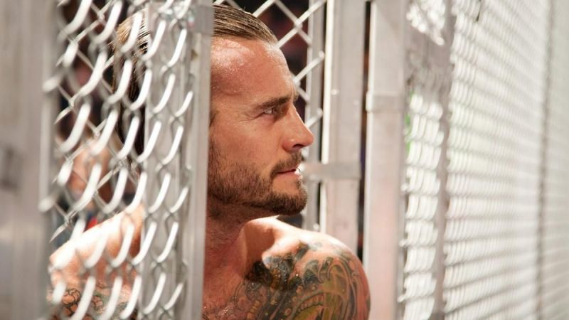 CM Punk was part of the shortest Hell in a Cell match