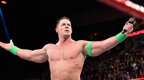 Cena will wrestle his first Televised match in 6 months.