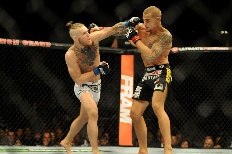 Image result for conor mcgregor knockout of dustin poirier