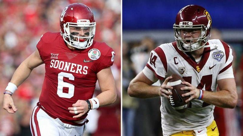 Baker Mayfield and Sam Darnold
