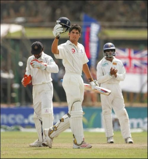 Image result for alastair cook 118 vs Sri Lanka, 2007