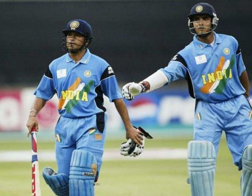 Sachin and Dada helped India win the 1st and 3rd Final.
