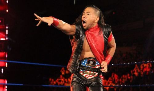 Shinsuke Nakamura is the current United States Champion, but isn't on the card!