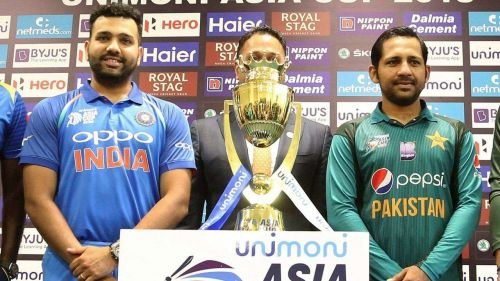 The Captains of India and Pakistan for Asia Cup 2018.