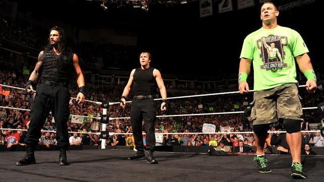 John Cena and The Shield are the biggest merchandise movers in the WWE