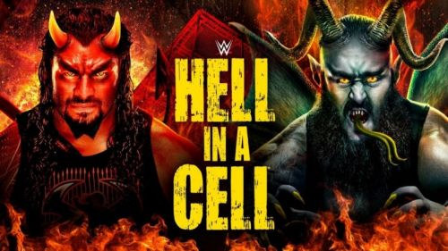 Hell in a Cell 2018 poster