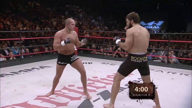 Fedor fought the likes of Andrei Arlovski outside the UFC