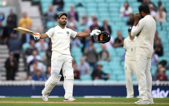 Image result for Pant 100 vs England