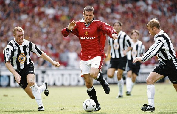 Eric Cantona Manchester United FA Charity Shield 1996