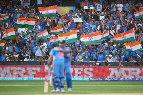 India v Bangladesh: Quarter Final - 2015 ICC Cricket World Cup