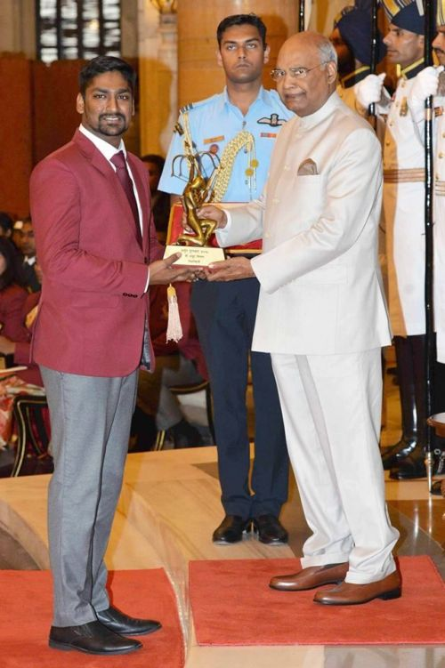 The 26-year-old trap shooter won an individual Gold in Commonwealth Shooting Championship 2017, an individual Silver in ISSF World Championship 2017, and a Bronze medal in the Gold Coast CWG in the Double Trap Shooting (Men) event
