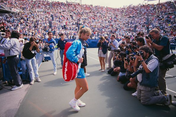 Chris Evert At US Open