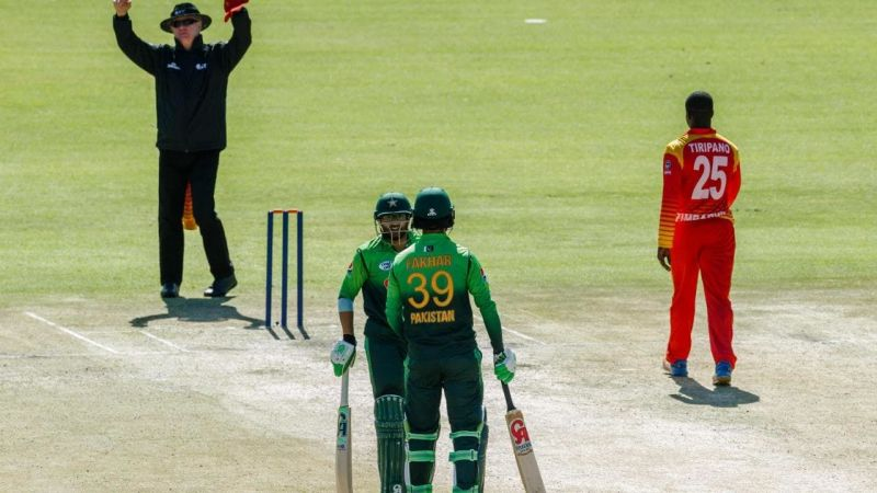 Image result for Imam-ul-Haq, Fakhar Zaman - 304 runs vs Zimbabwe