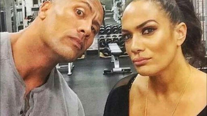 The Rock is Nia Jax's cousin