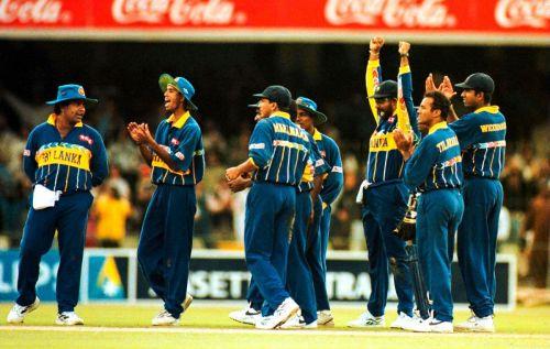 The World Cup winning Sri Lankan side
