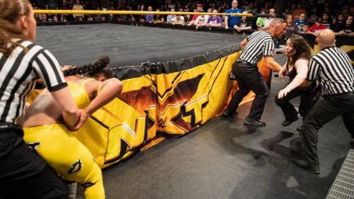 Bianca Belair faced Nikki Cross in the main event of NXT.