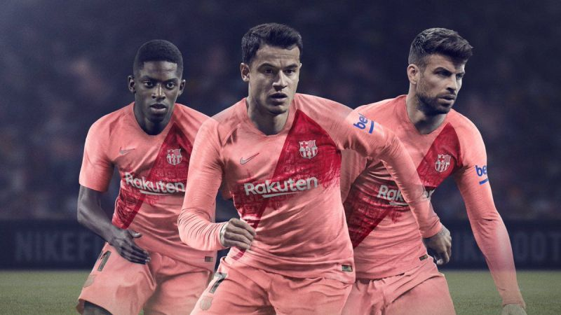 Twitter reacts to FC Barcelona s third kit release 845f3d193