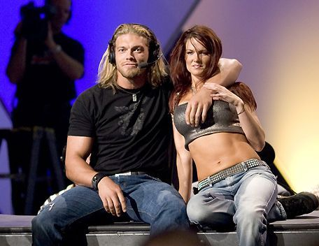Edge & Lita were the hottest on screen couples in the WWE