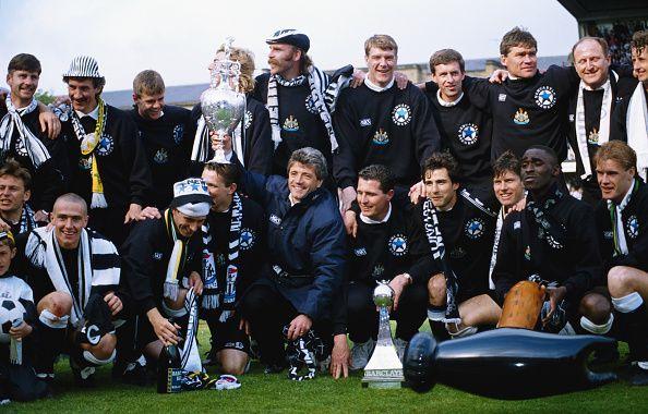 Newcastle United League Divison One Champions 1992/93