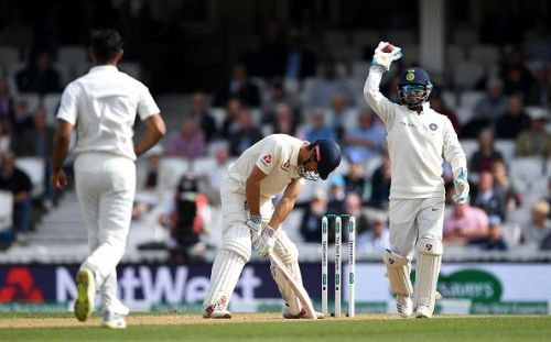 England v India: Specsavers 5th Test - Day Four