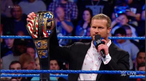 In 2017 Dolph gave up his United States Championship