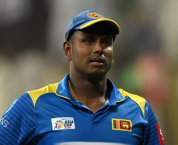 एंजेलो मैथ्यूज की कप्तानी में एशिया कप में श्रीलंका की टीम पहले ही दौर से बाहर हो गई थी
