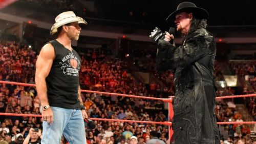 The Undertaker vs Shawn Michaels calls for One Last Time