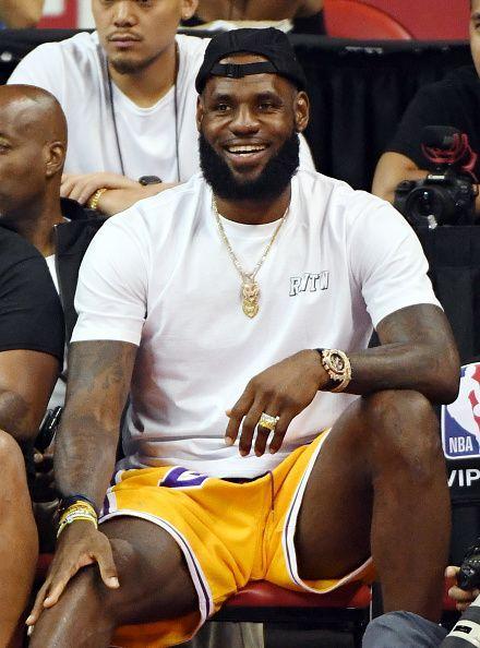 684a4c80249d99 2018 NBA Summer League - Las Vegas - Detroit Pistons v Los Angeles Lakers