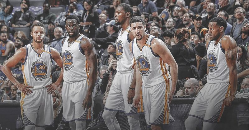 Death lineup of warriors