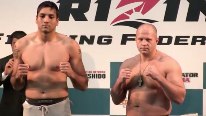 Fedor's comeback began in 2015 with a fight with giant kickboxer Jaideep Singh