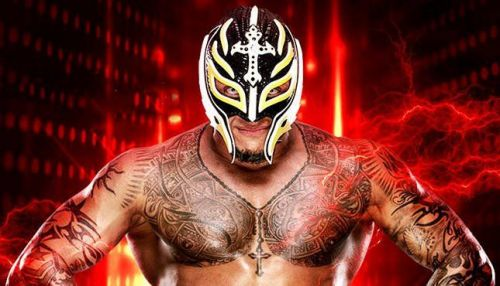 Image result for rey mysterio hell in a cell