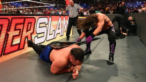 (Courtesy: WWE.com) Styles vs Joe at Summerslam 2018 ended in disqualification