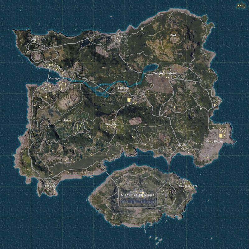 Erangel Map