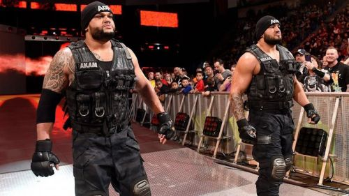 Authors of Pain returned to WWE after being out for a few months due to Akam's injury