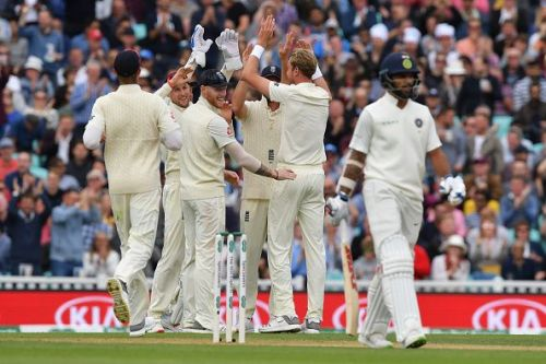 England v India: Specsavers 5th Test - Day Two