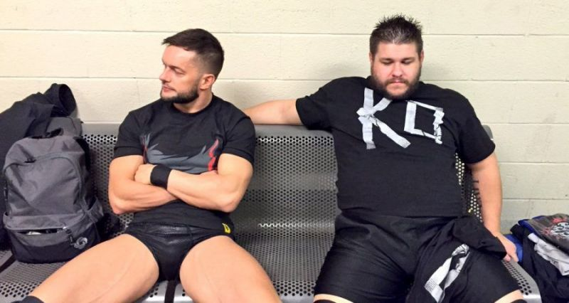 Kevin Owens and Finn Balor are both former NXT champions