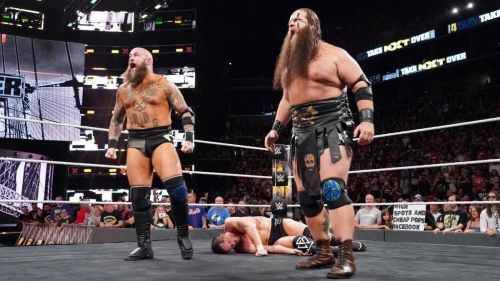 Image result for the war raiders nxt takeover brooklyn 4