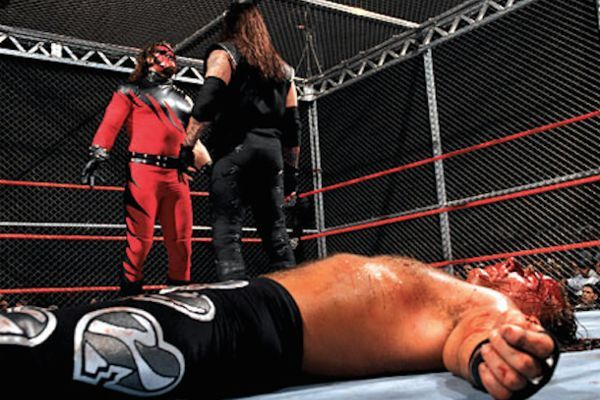 The first-ever Hell In A Cell match was a legendary match, to be sure...