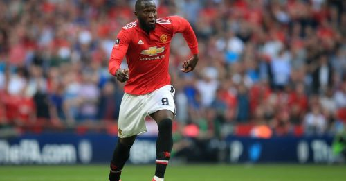Playing for manutd.