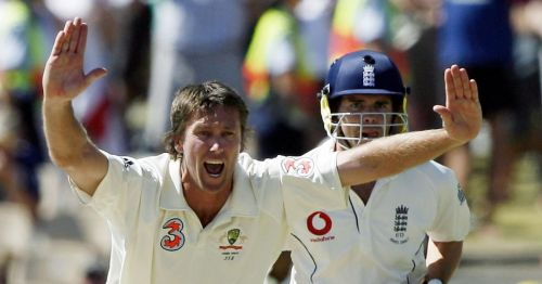 Anderson had only 46 Test wickets when McGrath retired from cricket
