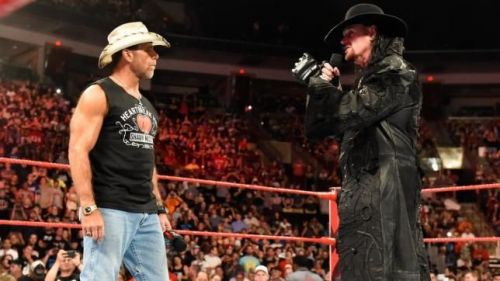 Image result for shawn michaels and the undertaker on raw