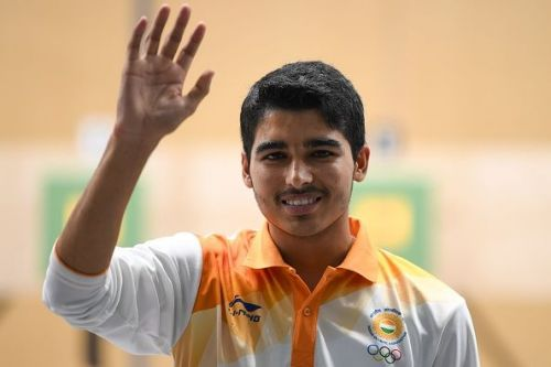 Saurabh Chaudhary repeated his Asiad heroics by winning yet another Gold.