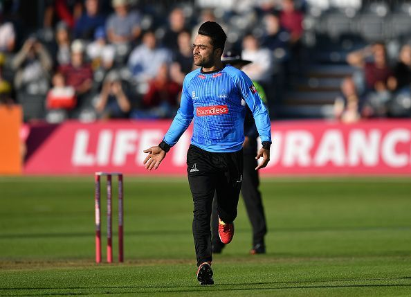 Rashid Khan has been unbelievable from the day he entered