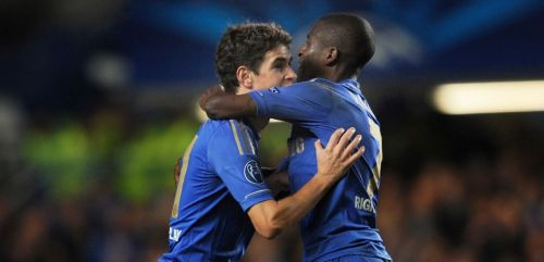 Ramires and Oscar left Chelsea in the space of one year