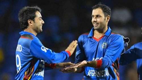 Rashid and Nabi have taken the most wickets (160 wickets) as a pair since 2016.
