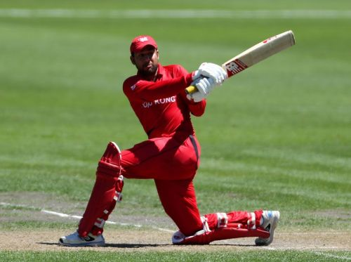 Babar Hayat is Hong Kong's all-time leading run-getter in ODIs