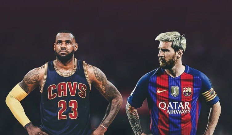 Lionel Messi and LeBron James: The Messiah and The King