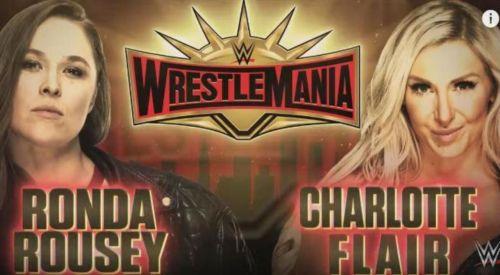 Charlotte Flair vs. Ronda Rousey WrestleMania 35