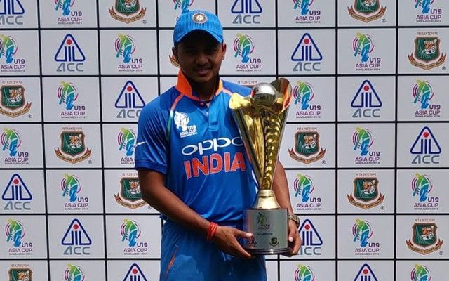 Indian U19 skipper Pawan Shah