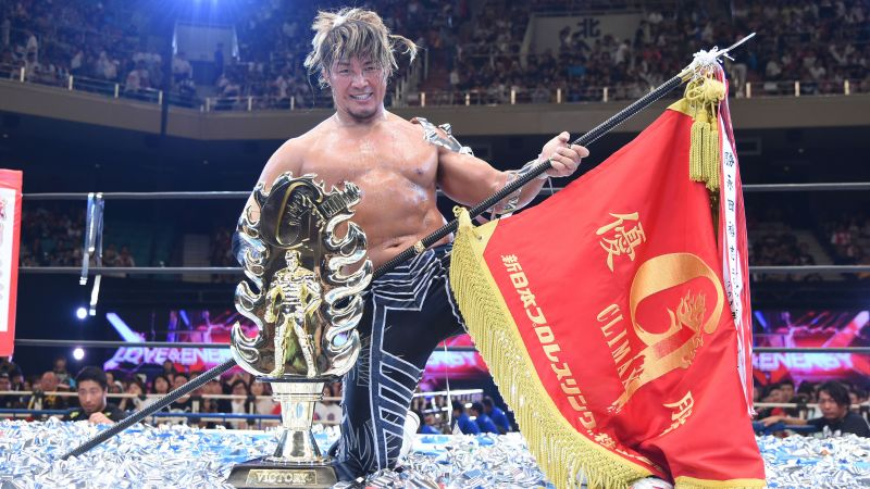 Tanahashi defends his G1 Climax contract against old rival Okada, but the Rainmaker must look towards Switchblade; a new foe brewing.